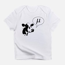 Scientific Cow Goes Mu Infant T-Shirt