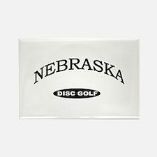 Nebraska Disc Golf Rectangle Magnet