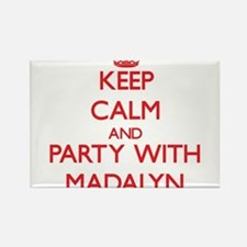 Keep Calm and Party with Madalyn Magnets