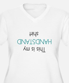 This Is My Handstand Shirt Plus Size T-Shirt