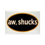 Aw, shucks Rectangle Magnet (100 pack)