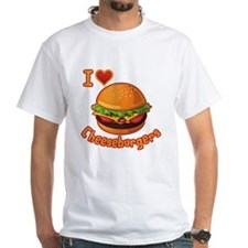 I Love Cheeseburger T-Shirt