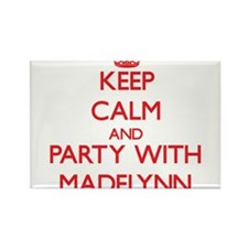 Keep Calm and Party with Madelynn Magnets