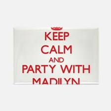 Keep Calm and Party with Madilyn Magnets