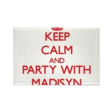 Keep Calm and Party with Madisyn Magnets