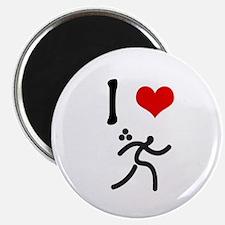 I love Triathlon Magnet