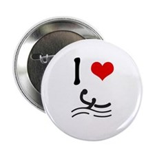 I love Waterpolo Button