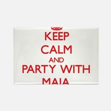 Keep Calm and Party with Maia Magnets