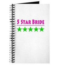 5 Star Bride Pink And Green Journal