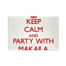 Keep Calm and Party with Makaila Magnets
