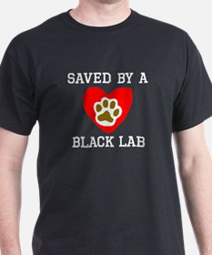Saved By A Black Lab T-Shirt