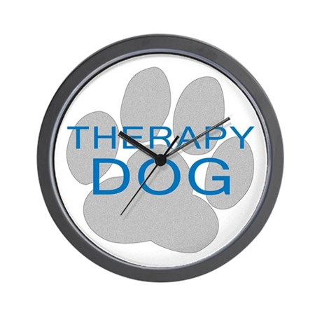 Therapy Dog Wall Clock