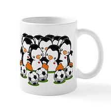 Soccer Penguins Small Mug