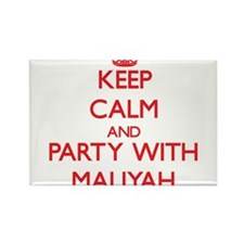 Keep Calm and Party with Maliyah Magnets
