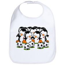 Soccer Penguins Bib