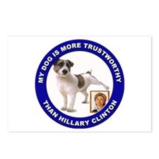 Anti Hillary Clinton Postcards (Package of 8)