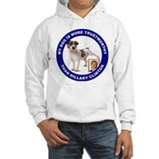 Anti Hillary Clinton (Front) Hoodie