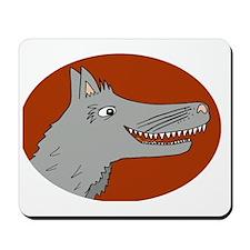 Big Bad Wolf Mousepad