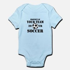 Personalized Property of Your Team Soccer Body Sui