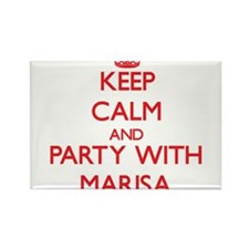Keep Calm and Party with Marisa Magnets