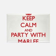 Keep Calm and Party with Marlee Magnets