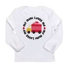 My Mimi Loves Me Long Sleeve Infant T-Shirt