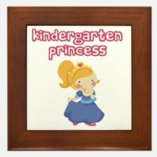 Kindergarten Princess Framed Tile