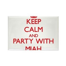 Keep Calm and Party with Miah Magnets