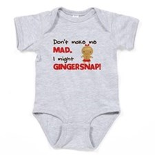 I Might Gingersnap! Baby Bodysuit