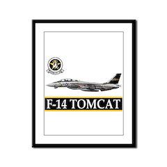 VF-51 Screaming Eagles Framed Panel Print