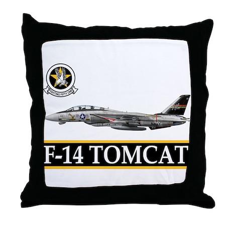 VF-51 Screaming Eagles Throw Pillow