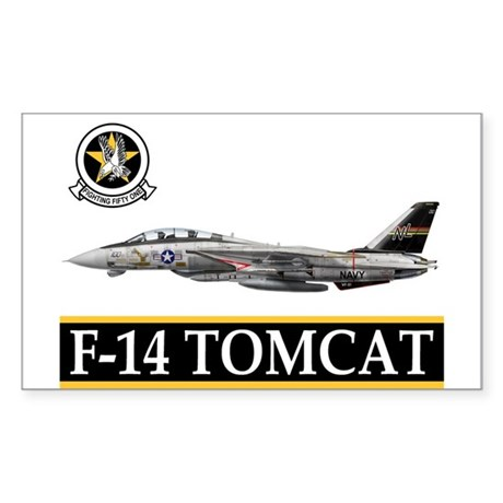 VF-51 Screaming Eagles Rectangle Sticker