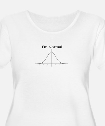 Im normal Plus Size T-Shirt