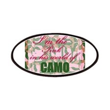 Pink Camo Patches