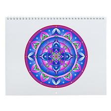 Color Mandala Wall Calendar