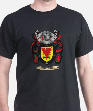 McAllister Coat of Arms - Family Cres T-Shirt