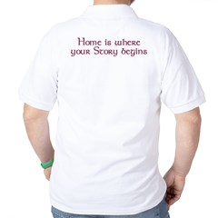 Home Is Where Your Story Begins T-Shirt