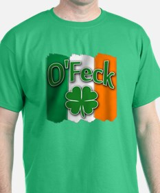 O Feck with Irish Colors T-Shirt