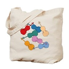 Colorful Cellos Tote Bag