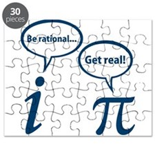 Be Rational Get Real Imaginary Math Pi Puzzle