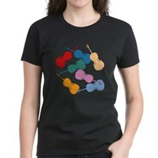 Colorful Cellos Tee