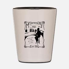 McPetebury Pub (Black) Shot Glass