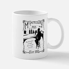 McPetebury Pub (Black) Mugs