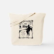McPetebury Pub (Black) Tote Bag