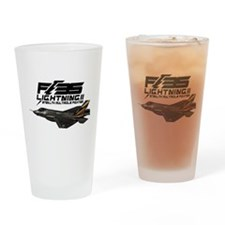 F-35 Lightning II Drinking Glass