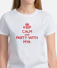 Keep Calm and Party with Mya T-Shirt
