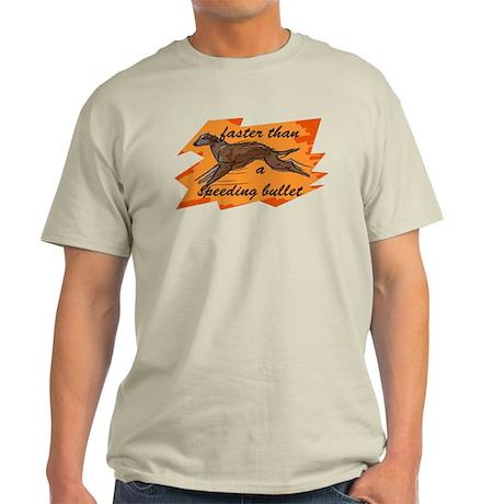whippet running Light T-Shirt
