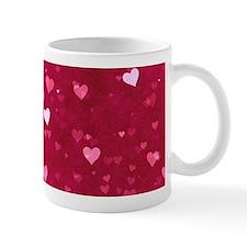 Bokeh Little Hearts Mug