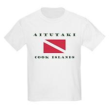 Aitutaki Cook Islands Scuba T-Shirt