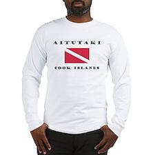 Aitutaki Cook Islands Scuba Long Sleeve T-Shirt